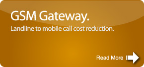 GSM Gateway. Landline to mobile cost reduction